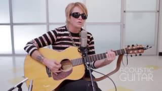 """Video thumbnail of """"Shawn Colvin Performs Covers of Graham Nash, Bruce Springsteen [Acoustic Guitar Sessions]"""""""
