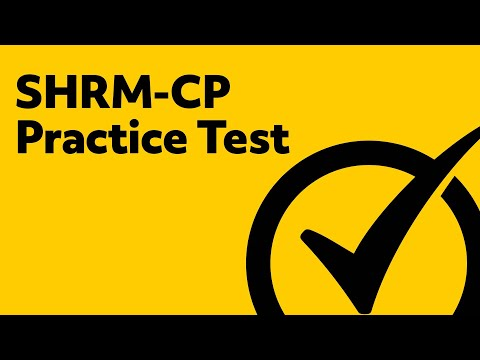 SHRM-CP Practice Test - YouTube