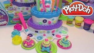 Пластилин для детей Плей До - набор Праздничный Торт
