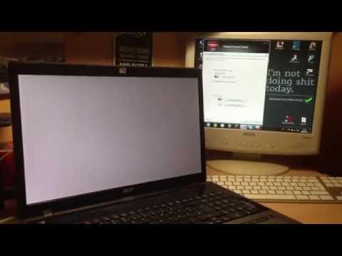 [PROBLEM] Notebook Bildschirm Fehler - Weißes Bild