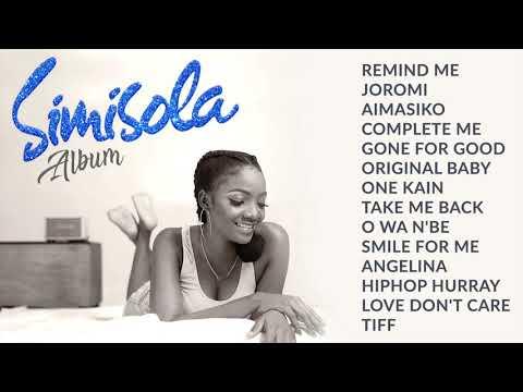 Simi - Simisola - Full Album   All Songs (Audio)