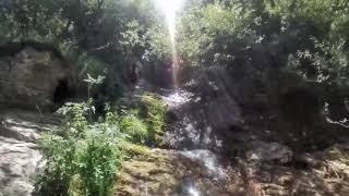 Cascatelle e Natura con Mini Drone CineWhoop FPV Insta360 GO