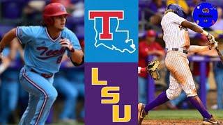 # 14 ไฮไลท์ Louisiana Tech vs LSU (Crazy Game!)   ไฮไลท์เบสบอลของวิทยาลัย 2021