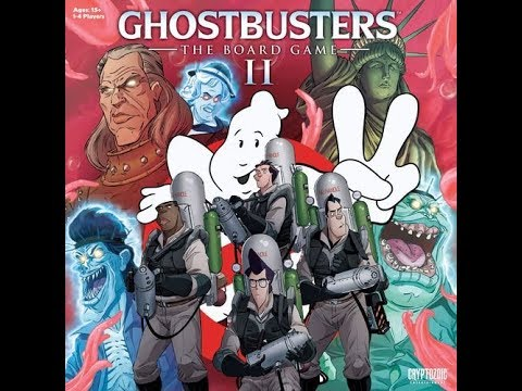 The Purge: # 1855 Ghostbusters: The Board Game II - Trap Variant and a Look at the Rule Book