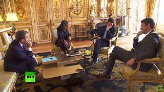 Palace leak? Macron