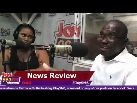 #JoySMS Newspaper Review on Joy FM (17-9-18)