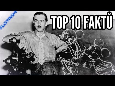TOP 10 FAKTŮ - Walt Disney