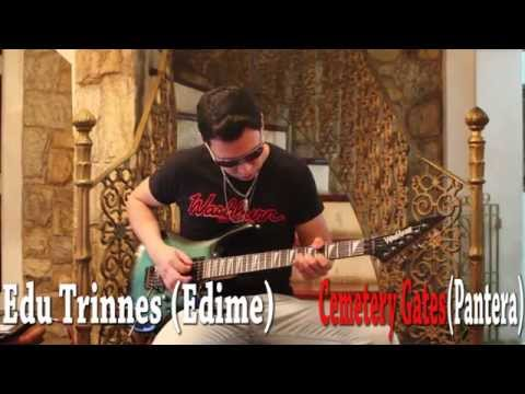 Pantera - Cemetery Gates Tribute Dimebag by Edu Trinnes(Edime)