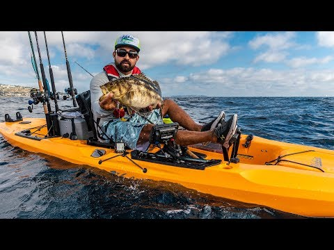 2019 Hobie Outback - Rigged for Fishing