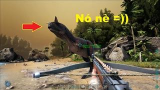ARK: Survival Evolved #13 - Hạ được Khủng long sừng bò Carnotaurus rồi =))