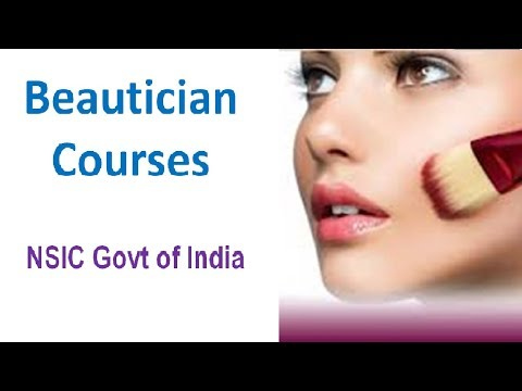 beautician course in hindi, beautician training courses beauty ...