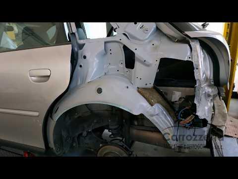 Sostituzione parafango posteriore Audi A3