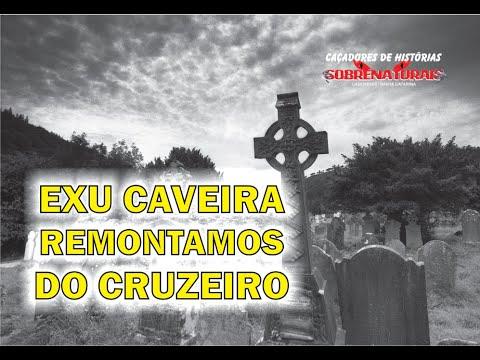 EXU CAVEIRA ACOMPANHOU O TRABALHO - REMONTAMOS O CRUZEIRO DAS ALMAS
