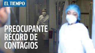 Colombia Registró Hoy Nuevo Récord Diario De Contagios Por Coronavirus