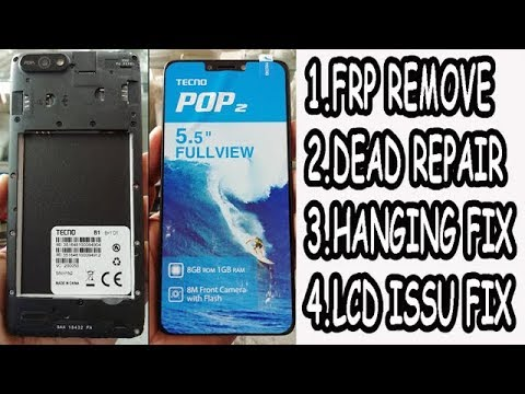 TECNO B1p Flashing With tool | Pin,pattern,Frp Unlock with Flash