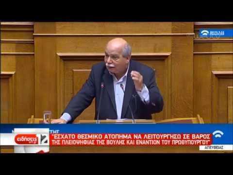 Ν. Βούτσης: «Έσχατο θεσμικό ατόπημα να λειτουργήσω σε βάρος της πλειοψηφίας» | 06/02/19 | ΕΡΤ