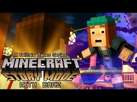 "ENDER MONSTER | Telltale's Minecraft: Story Mode S1 Ep1 ""The Order of the Stone"" Pt4"