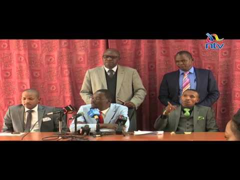 Kanini Kega: Duale, Mbadi masterminded the shooting down of the sugar report