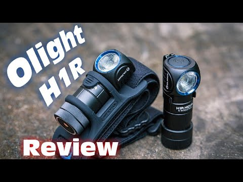 Olight H1R Nova rechargeable headlamp review   The best flashlight for EDC?