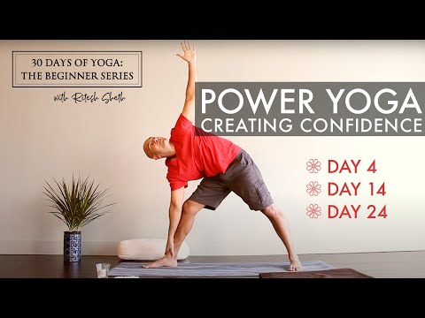 Day 4: Power Yoga   30 Days of Yoga for Beginners with Ritesh Sheth