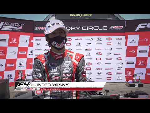 Yeany Wins at Virginia (Race 1 Highlights)