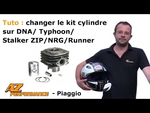 Changer le cylindre / piston / culasse de son Typhoon / Stalker / Zip / ...