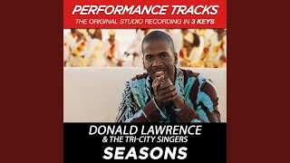 Seasons (Performance Track In Key Of Ab With Background Vocals)