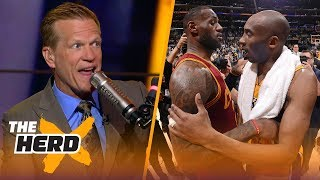 Ric Bucher explains why he's excited to see LeBron 'in Kobe's shoes' | NBA | THE HERD