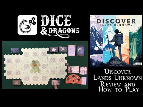 Dice and Dragons - Discover Lands Unknown Review and How to Play