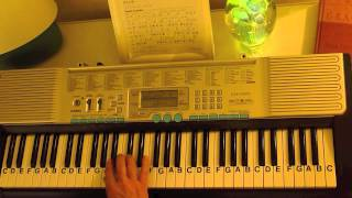 How to Play ~ Earth Angel ~ The Penguins ~ LetterNotePlayer ©