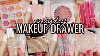 EVERYDAY MAKEUP DRAWER 2020! MAKEUP IM USING THIS SUMMER
