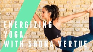 12 Minute Energizing Yoga Session With Shona Vertue | The Body Coach TV by The Body Coach TV