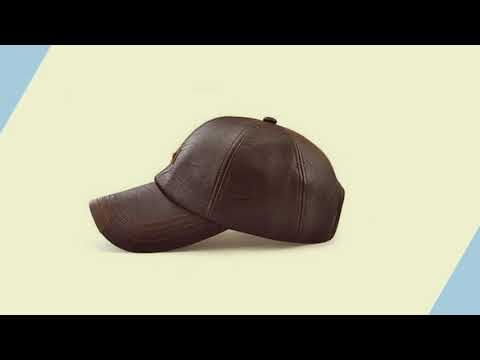 Winter New Leather Fashion Simple Wild Baseball Cap | black Friday Sale