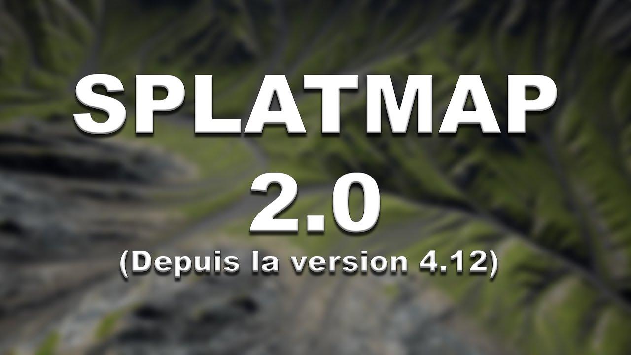 [UE4 TUTO FR] Splatmap 2.0 (Mise à jour)
