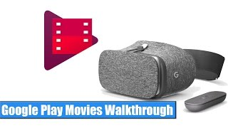 Google Daydream VR: Play Movies Walkthrough / Hands-On