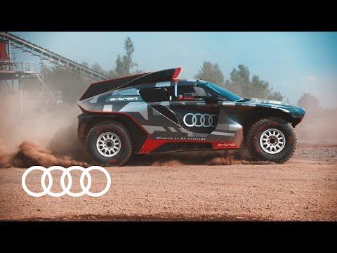 Road to Dakar – Audi RS Q e-tron tests