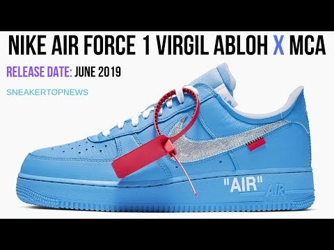 """Nike Reveals Info On Off White x Nike Air Force 1 """"MCA"""""""