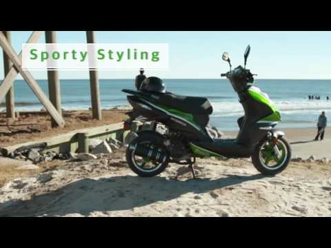 2021 Bintelli Scorch 49cc Scooter in Forest Lake, Minnesota - Video 1
