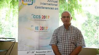 Inas Said at IE Conference 2017 by GSTF