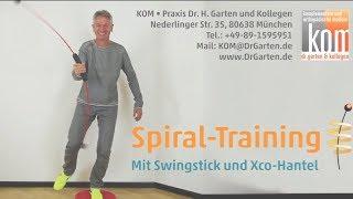 Spiraltraining mit Swingstick