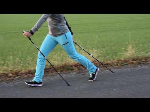 Nordic Walking - Die richtige Technik