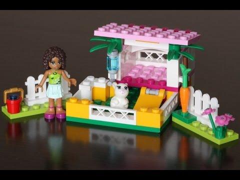 Vidéo LEGO Friends 3938 : La maison du lapin d'Andréa