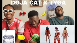 Doja Cat, Tyga - Juicy (Official Video) (REACTION) Thirst Levels High