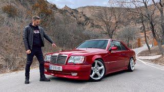 უხეში ტესტ დრაივი - Mercedes W124 Coupe! ხარისხის ეტალონი!