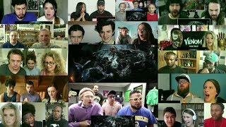 VENOM - Official Trailer 2 Reaction Mashup
