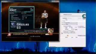 Cheat Engine Tutorial - How To Get Unlimited Skill Points In NBA 2K10 Game! (My Player Mode)