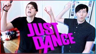 Dan and Phil play JUST DANCE