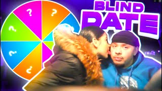 I SET 2 FREAKS ON A EXTREME SPIN THE MYSTERY WHEEL BLIND DATE!!!