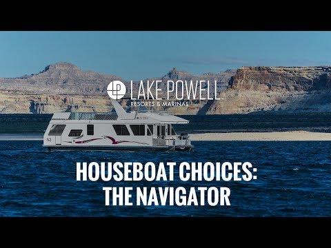 Deluxe Class 48' Navigator Houseboat Video