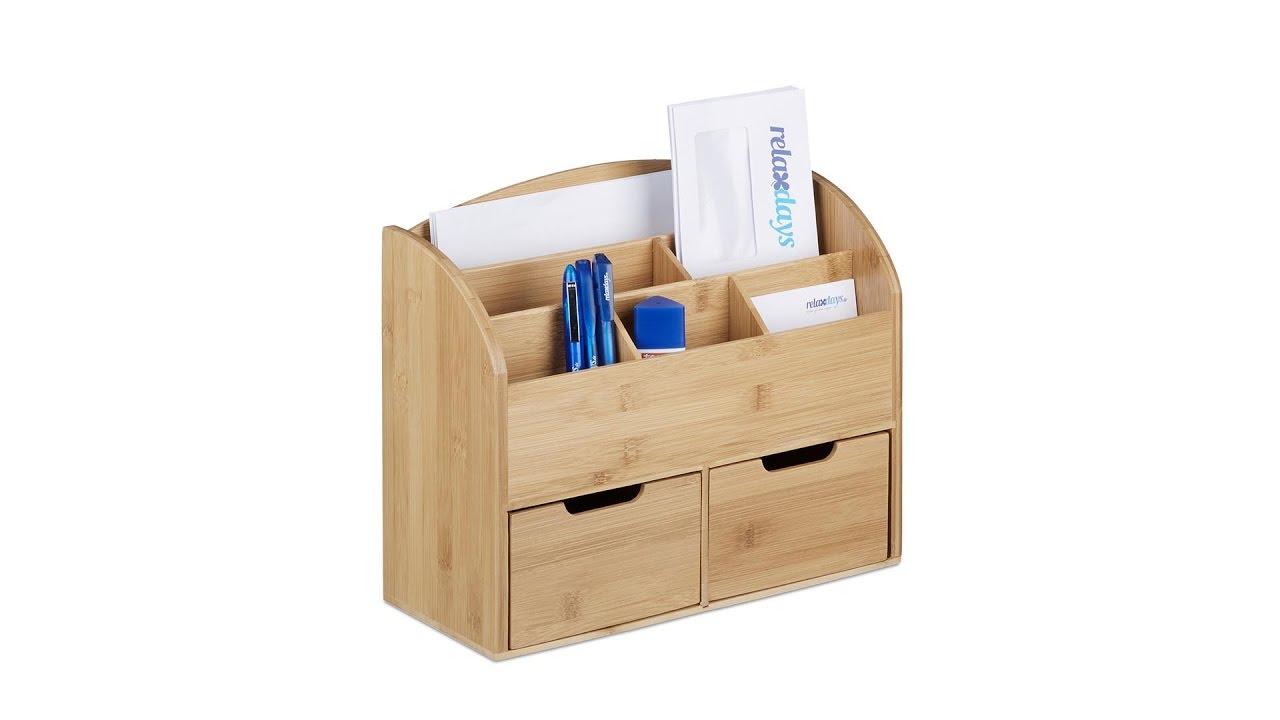 Video von: Schreibtisch-Organizer 2 Schubladen